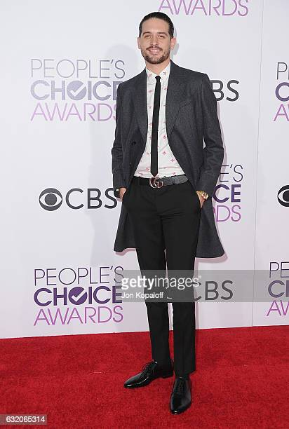 Eazy arrives at the People's Choice Awards 2017 at Microsoft Theater on January 18 2017 in Los Angeles California