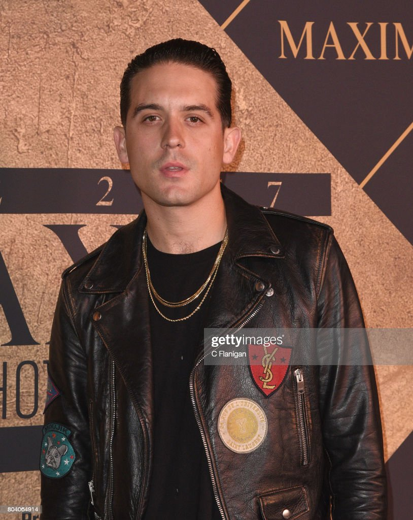 G-Eazy arrives at the The 2017 MAXIM Hot 100 Party at Hollywood Palladium on June 24, 2017 in Los Angeles, California.