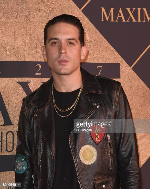 Eazy arrives at the The 2017 MAXIM Hot 100 Party at Hollywood Palladium on June 24 2017 in Los Angeles California