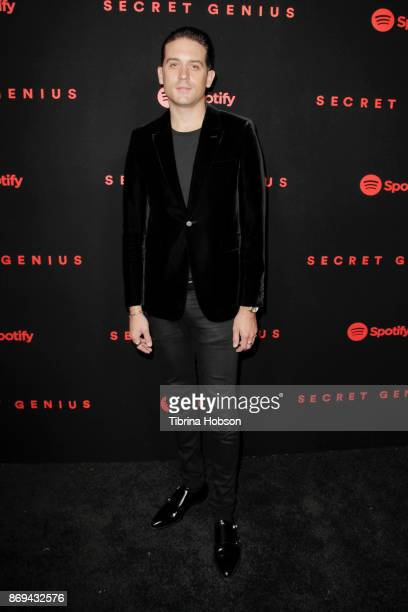 Eazy attends Spotify's Inaugural Secret Genius Awards on November 1 2017 in Los Angeles California