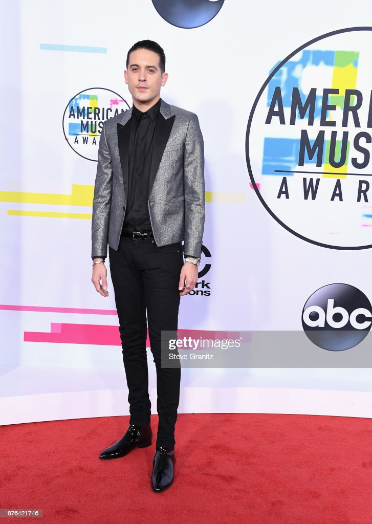 G-Eazy attends the 2017 American Music Awards at Microsoft Theater on November 19, 2017 in Los Angeles, California.