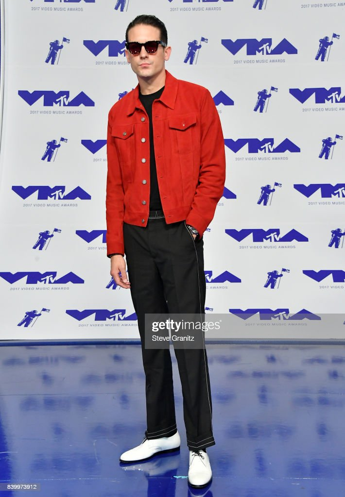 G-Eazy attends the 2017 MTV Video Music Awards at The Forum on August 27, 2017 in Inglewood, California.