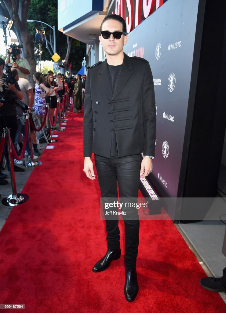 G-Eazy attends the Los Angeles Premiere of Apple Music's CAN'T STOP WON'T