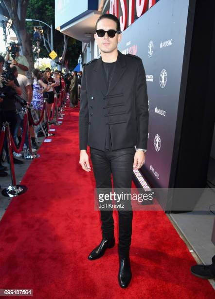 Eazy attends the Los Angeles Premiere of Apple Music's CAN'T STOP WON'T STOP A BAD BOY STORY at The WGA Theater on June 21 2017 in Beverly Hills...