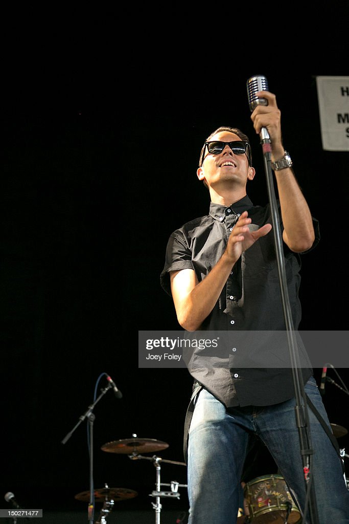 G-Eazy performs onstage during the 2012 Vans Warped Tour at the Riverbend Music Center on July 31, 2012 in Cincinnati, Ohio.
