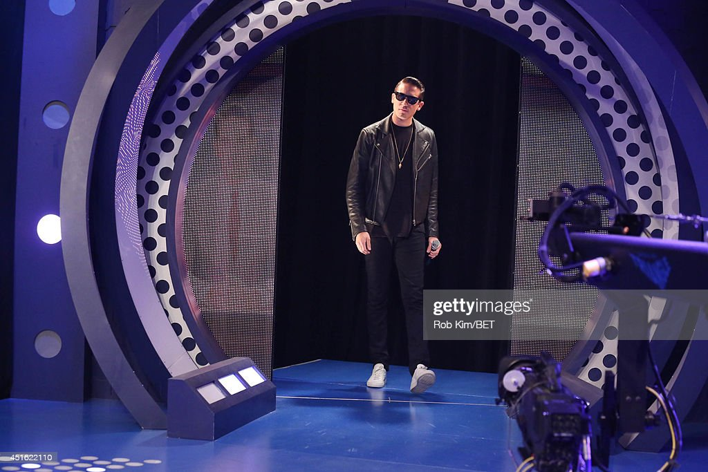 <a gi-track='captionPersonalityLinkClicked' href=/galleries/search?phrase=G-Eazy&family=editorial&specificpeople=9024597 ng-click='$event.stopPropagation()'>G-Eazy</a> visits at BET's 106 & Park at BET studios on July 1, 2014 in New York City.