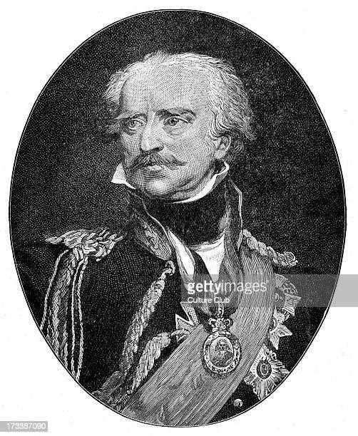 Gebhard Leberecht von Blücher after portrait by Sir Thomas Lawrence Prussian Generalfeldmarschall who led his army against Napoleon I at the Battle...
