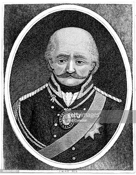 Gebhard Leberecht von Blucher Prussian general 1814 The intervention of Blucher's Prussian army made a vital contribution to Wellington's victory at...