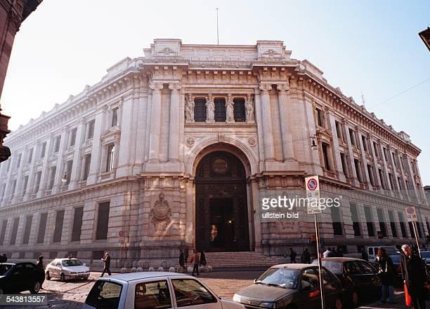 Gebäude der Bank von Italien in Mailand Staatliche Institution zentrale Notenbank