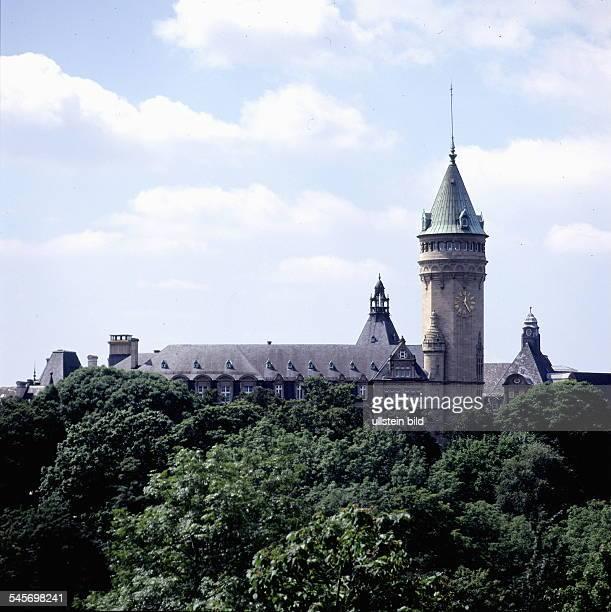 Gebäude der Staatsbank Luxemburg 1998