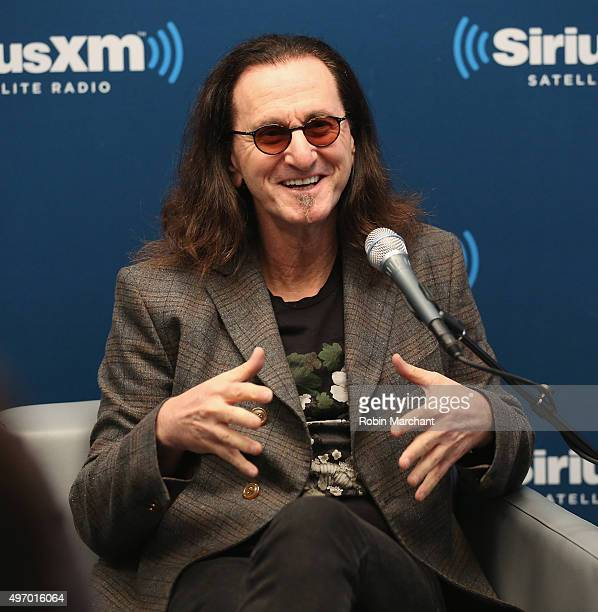 Geddy Lee of Rush visits at SiriusXM Studios on November 13 2015 in New York City
