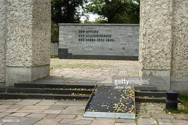 Gedenkstaette Ploetzensee im Bezirk Wedding Hinrichtungsort fuer WiderstandskaempferRegimegegner und Kriegsdienstverweigerer durch das...