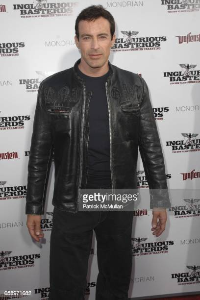 Gedeon Burkhard attends 'Inglourious Basterds' Premiere at Grauman's Chinese Theater on August 10 2009 in Los Angeles California