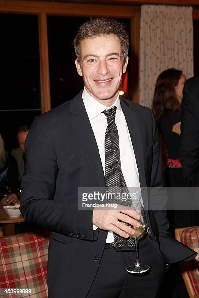 Gedeon Burkhard attends the Gala Dinner At Kuehtai Castle Tirol Cross Mountain 2013 on December 06 2013 in Innsbruck Austria
