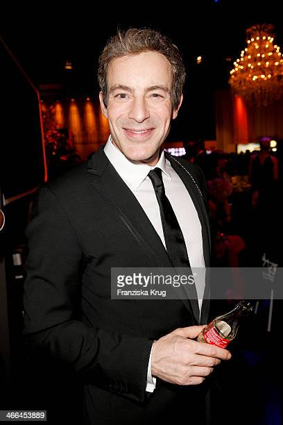 Gedeon Burkhard attends the Goldene Kamera 2014 at Tempelhof Airport on February 01 2014 in Berlin Germany