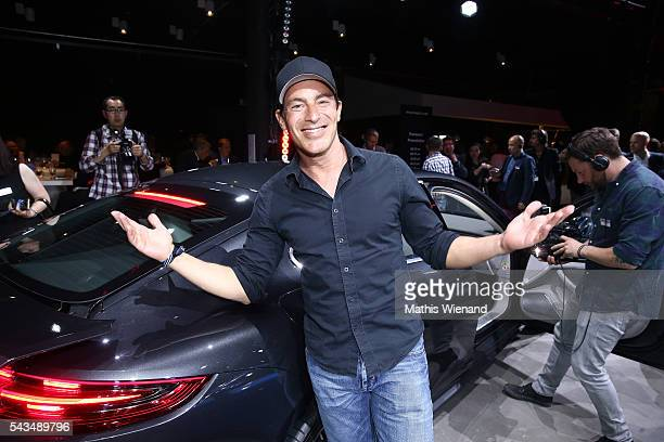 Gedeon Burkhard attends the World Premiere Of New Porsche Panamera on June 28 2016 in Berlin Germany