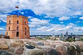 Gediminas Tower, Vilnius, Lithuania.