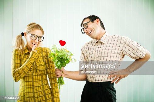 Dating a shy nerdy guy