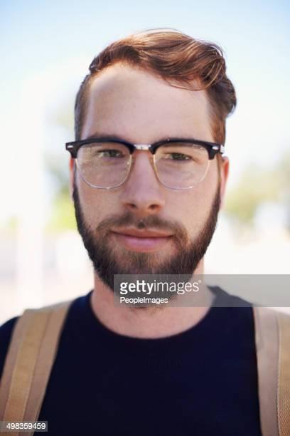 Geek auf der Hüfte: Die moderne hipster!