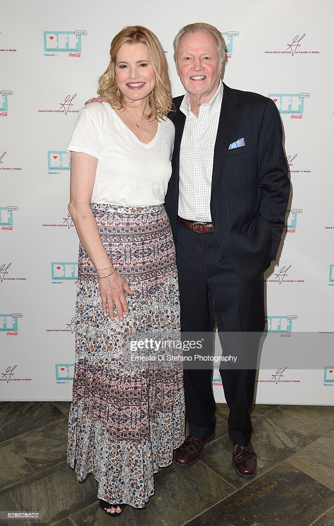 Geena Davis and Jon Voight attend Geena Davis ' 2nd Annual Bentonville ...