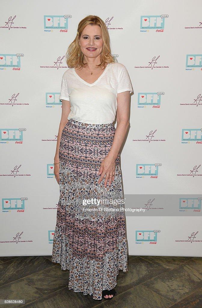 Geena Davis attends Geena Davis ' 2nd Annual Bentonville Film Festival ...