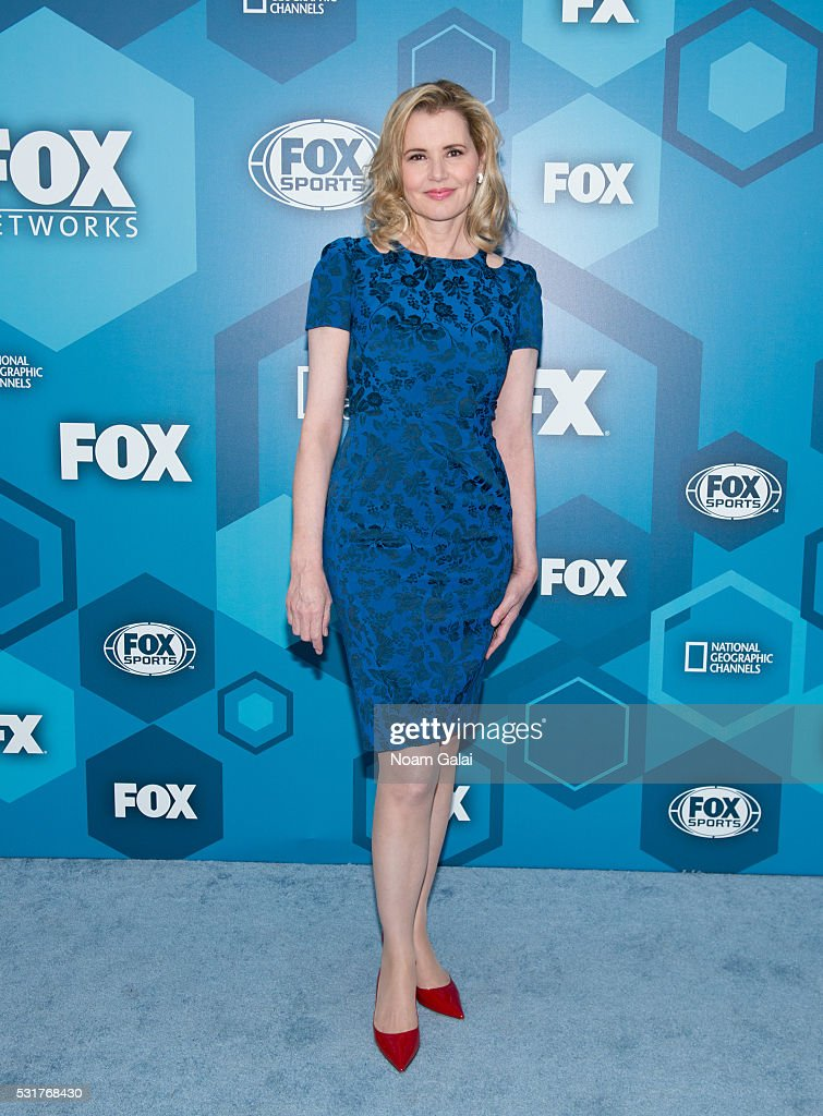 Geena Davis attends the 2016 Fox Upfront at Wollman Rink Central Park on May 16 2016 in New York City