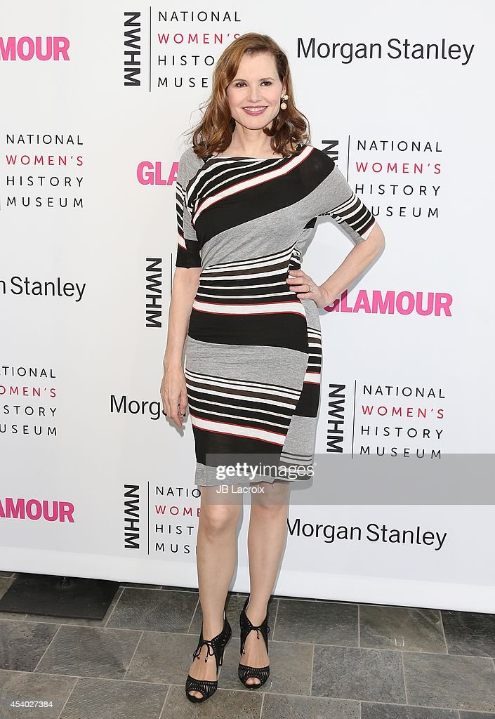 Geena Davis attends the 3rd Annual Women Making History Brunch presented by the National Women's History Museum and Glamour Magazine at the Skirball...