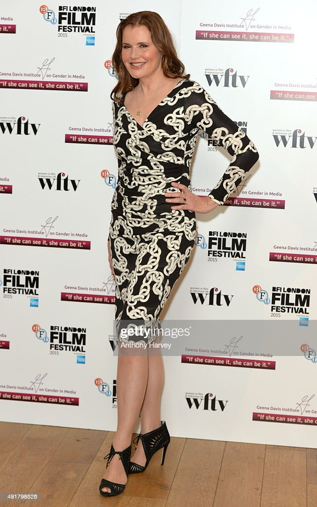Geena Davis attends the Geena Davis symposium during the BFI London ...