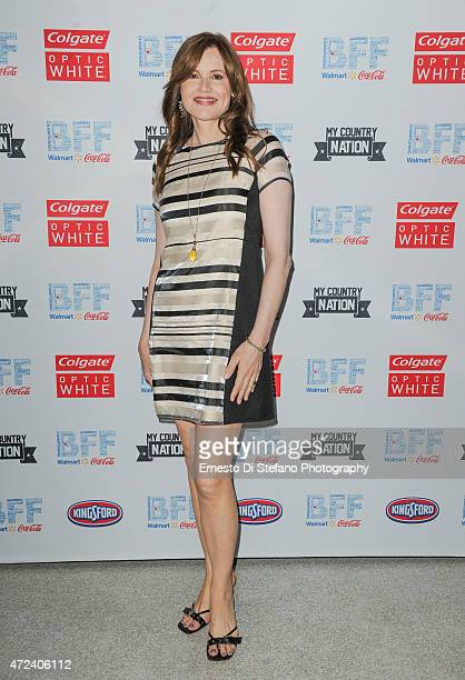 Geena Davis attends the 'Sound of Music Concert' at the Bentonville Film Festival on May 6 2015 in Bentonville Arkansas