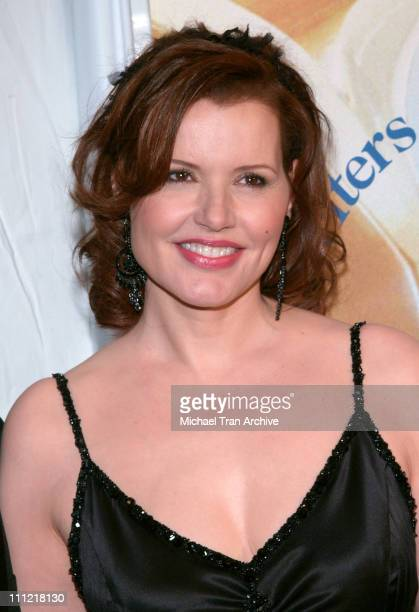 Geena Davis during 2006 Writers Guild Awards Arrivals at The Hollywood Palladium in Hollywood California United States