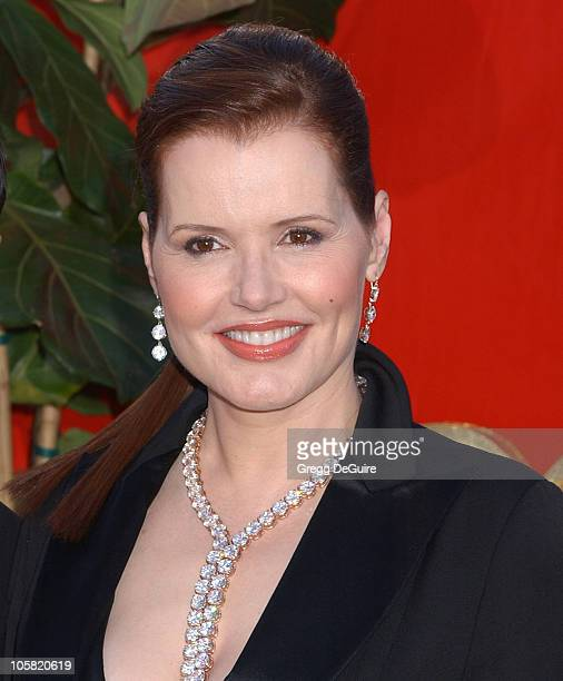 Geena Davis during 58th Annual Primetime Emmy Awards Arrivals at Shrine Auditorium in Los Angeles California United States