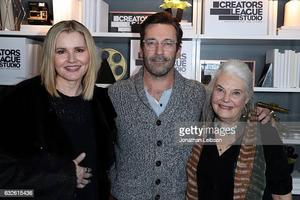 Geena Davis Jon Hamm and Lois Smith attends theCreators League Studio At 2017 Sundance Film Festival Day 6 on January 24 2017 in Park City Utah