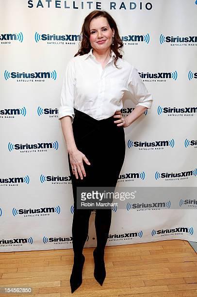 Geena Davis visits at SiriusXM Studio on October 22 2012 in New York City