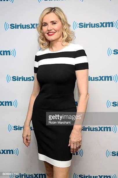 Geena Davis visits at SiriusXM Studio on September 23 2016 in New York City