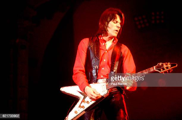 J Geils Of The J Geils Band at the Aragon Ballroom in Chicago Illinois April 11 1980