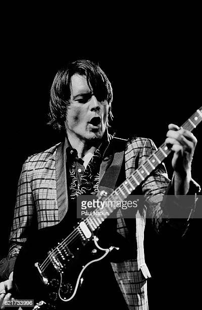 J Geils of the J Geils Band at the Poplar Creek Music Theater in Hoffman Estates Illinois August 20 1982