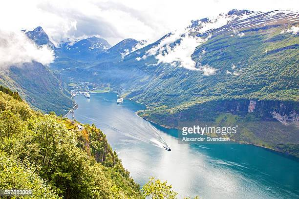 Geirangerfjord and Geiranger town