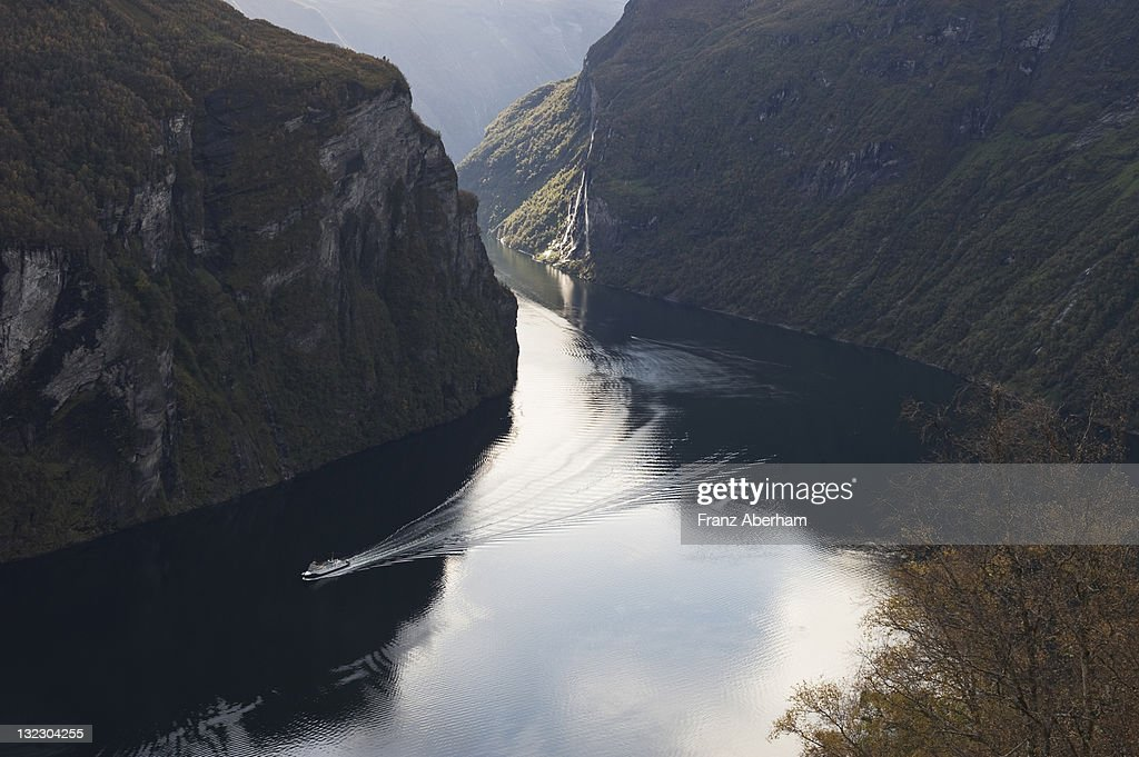 Geirangerfjord, Norway : Stock Photo