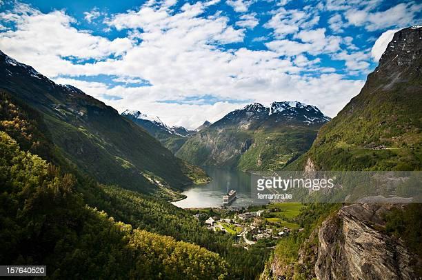 Geirangerfjord, Norvège