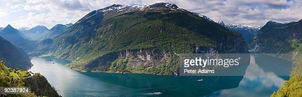 Geirangerfjord, Western fjords, Norway