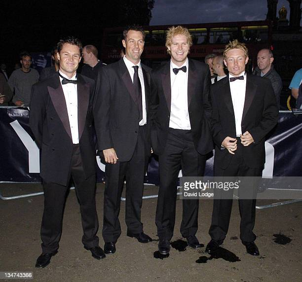 Geirant Jones and Marcus Trescothick and Matthew Hoggard and Ian Bell