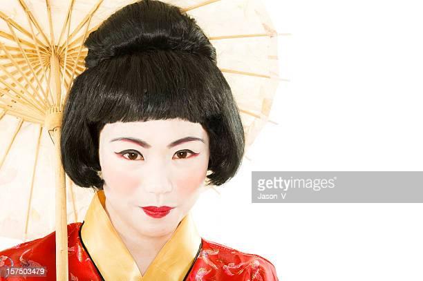 Geisha Closeup