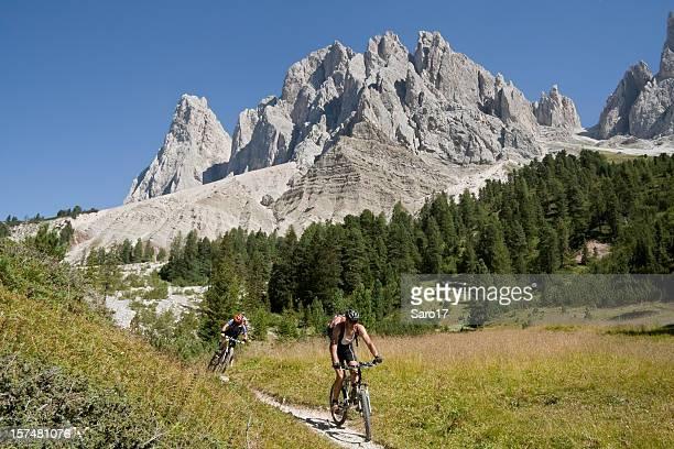 Geislerspitzen discesa, Sud Tirolo