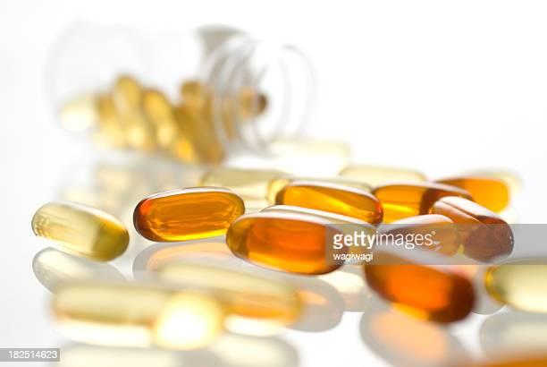 gel supplément de vitamines capsules