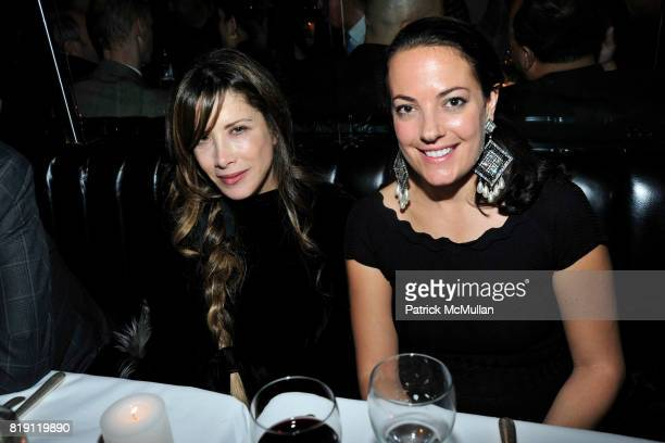 Gela NashTaylor and Domenica Stagno attend LARRY GAGOSIAN hosts a Private Dinner for the ANDREAS GURSKY Opening Exhibition at GAGOSIAN GALLERY at Mr...