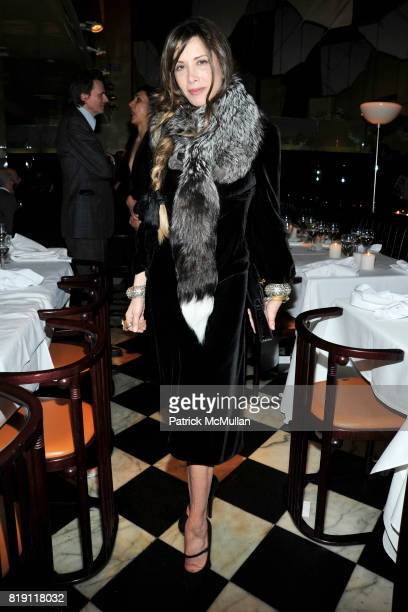 Gela NashTaylor attends LARRY GAGOSIAN hosts a Private Dinner for the ANDREAS GURSKY Opening Exhibition at GAGOSIAN GALLERY at Mr Chow on March 4...
