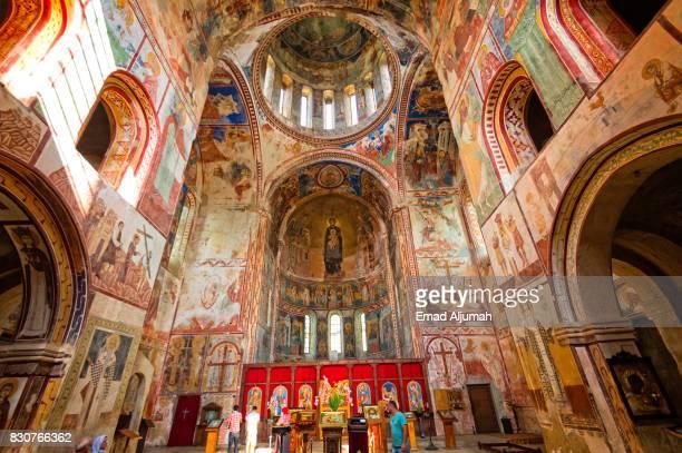Gelati Academy and Monastery in Kutaisi, Georgia - June 27, 2017