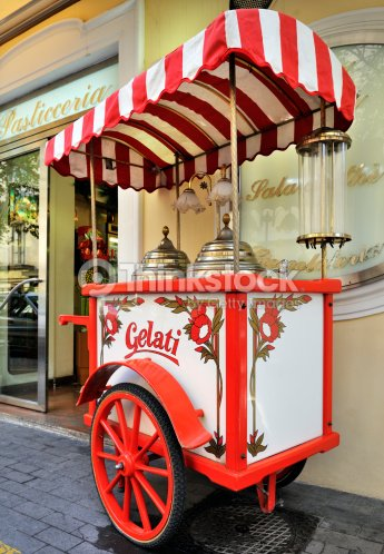 gelati chariot glace photo thinkstock. Black Bedroom Furniture Sets. Home Design Ideas