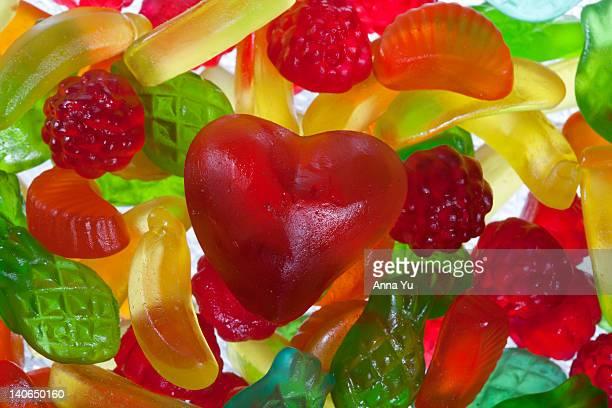 Gelatin sweets