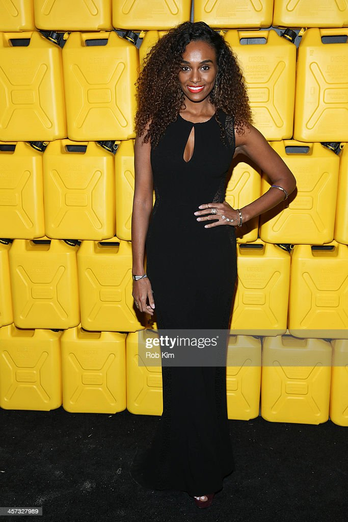 Gelila Bekele attends the 8th annual charity: ball Gala at the Duggal Greenhouse on December 16, 2013 in the Brooklyn borough of New York City.